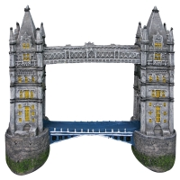 Ornament London Bridge 28.5x12x26cm