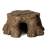 Hermit Crab Tree Stump Ledge 16x16x7cm