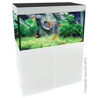 Brilliance 120 Rectangular 292L Aquarium Set (white)
