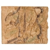Copi Rock PU Background Joinable River Clay 60 x 48cm