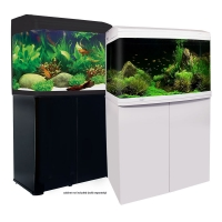 620 AquaStyle 90L Curved Glass Aquarium