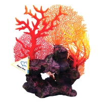 Ornament Copi Coral Red Gorgonian Garden 39x16x33cm