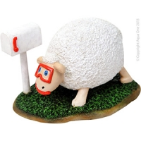 Ornament Sheep 12.2x8.7x7.6cm