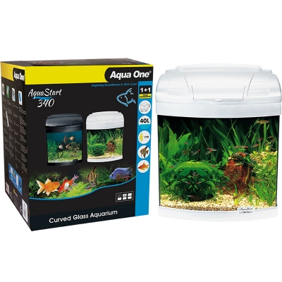 AquaStart 340 - 40L Glass Aquarium