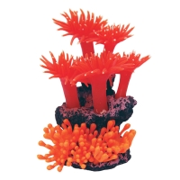Ornament Copi Coral Red Anemones 15x12x16cm