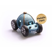 Ornament Buggy 11x6.5x7cm (Blue)