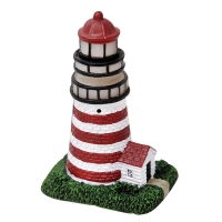 Ornament LED Lighthouse 7.5x5.8x11.5