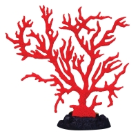 Ornament Copi Coral Red Gorgonian 15.5x7.2x16cm