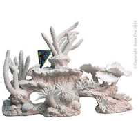 Ornament White Coral Mixed (XL) 39x14x18.5cm
