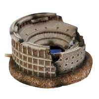 Ornament LED Air Operated Colosseum 9.5x9.5x5cm