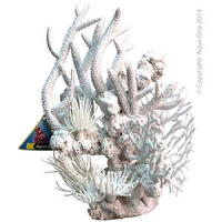 Ornament White Corals Mixed (L) 30x18x35cm