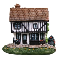 Ornament Mini Bavarian Cottage 8lx6.5wx8cm H