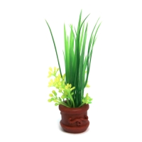 Planter Potted Plant Rush 9x8x15cm