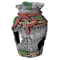 Ornament Broken Aztec Vase Small 19x12.5x13cm