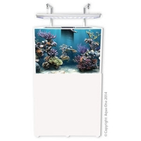 AquaReef 290 Marine Set 290L 80L x 60D x 60 + 80cm H White