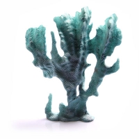 Ornament Cabbage Coral 17x6x20cm (Blue)