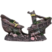 Ornament Mini Shipwreck 9.5 L X 3 W X 5.5cm H