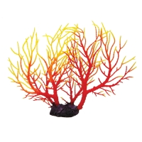 Ornament Copi Coral Red And Yellow Gorgonian 29x5x22cm