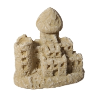 Ornament Sand Castle 11.1x9x9.8cm