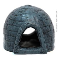 Ornament Blue Igloo (S) 9.6x8.5x7cm