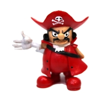 Ornament Pirate Red 11x7x11.2cm