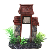 Ornament Betta Square Column Arch w/Roof 10cm