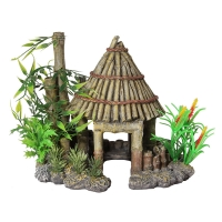 Ornament Bamboo Gazebo Medium 21.5x17.5x18cm