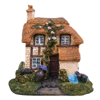 Ornament Mini Traditional Cottage 7.5lx6.8wx7cm H