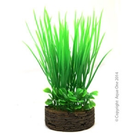 Ornament Planter Box Green Grasses 14cm