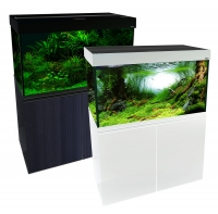 Brilliance 120 Rectangular 292L Aquarium Set (black)