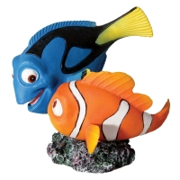 Ornament Blue Tang And Clownfish 10x9.5x9.8cm