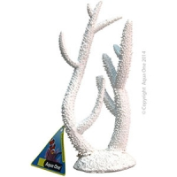 Ornament White Coral Staghorn (M) 15.5x7x23cm