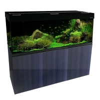 Brilliance 150 Rectangular 398L Aquarium Set (black)