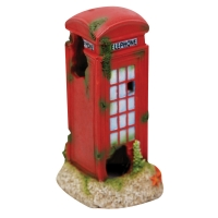Ornament LED Air Operated Phone Booth 5.4x5.4x10cm