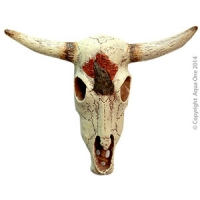Ornament Bull Head (S) 12x9x3.5cm