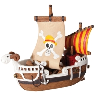Ornament Pirate Ship Small 16.5x7x15cm