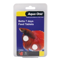 Block Betta 7 Day Feeder 2 Tabs