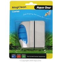 MagClean Corner Curved Glass Magnet Cleaner Up To 8mm