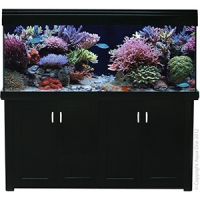 AquaReef 500 Marine Set 185L x 52D x 73 + 73cm H Black