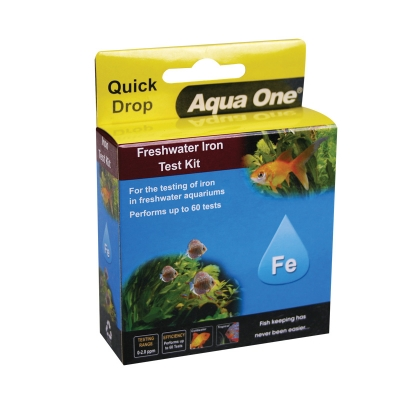 Freshwater Iron Fe Quick Drop Test Kit