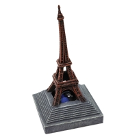 Ornament LED Air Operated Eiffel Tower 8.2x8.2x16.1cm