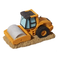 Ornament Road Roller Truck 13.6x7.2x7.2cm