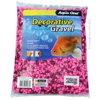 Gravel Mixed Pink + Purple 2kg (7mm)