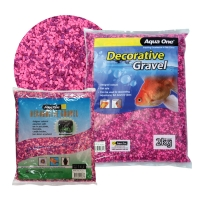 Gravel Mixed Pink + Purple 1kg (2mm)