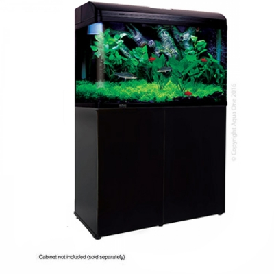 AquaStyle 850 - 165L Curved Glass Aquarium