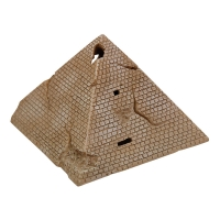 Ornament LED Air Operated Pyramid 8.8x8.8x8.2cm
