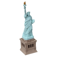 Ornament LED Statue Of Liberty 4.6x4.6x17cm