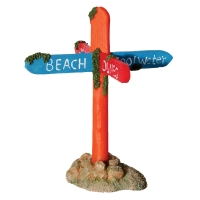 Hermit Crab Street Sign 11.5x12x14cm