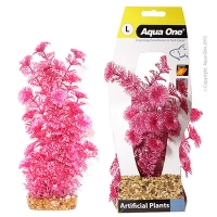 Plastic Plant Ambulia Red L