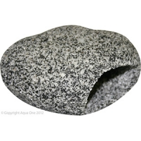 Ornament Cave Round (M) 12x9x6.5cm Granite
